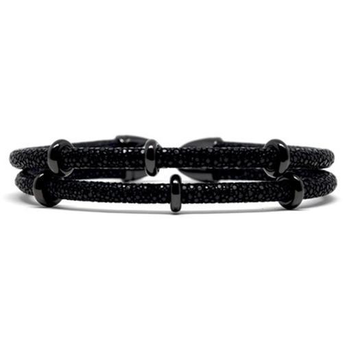 Bracelet | 2x Sting | Black/Black