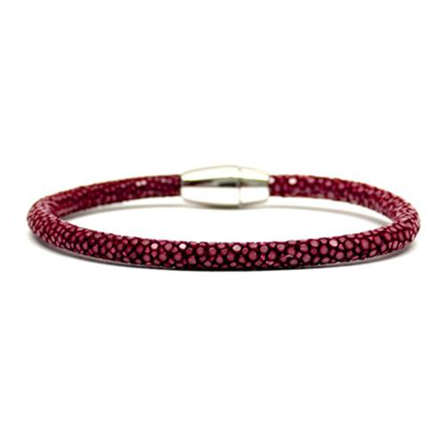 Bracelet | Single Stingray | Red Wine