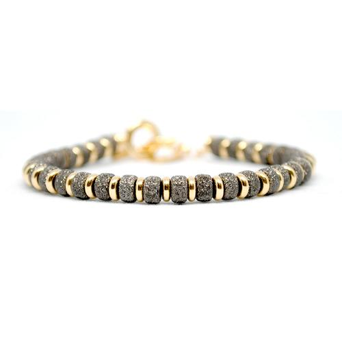 Bracelet | Multi Beads | Black/Gold