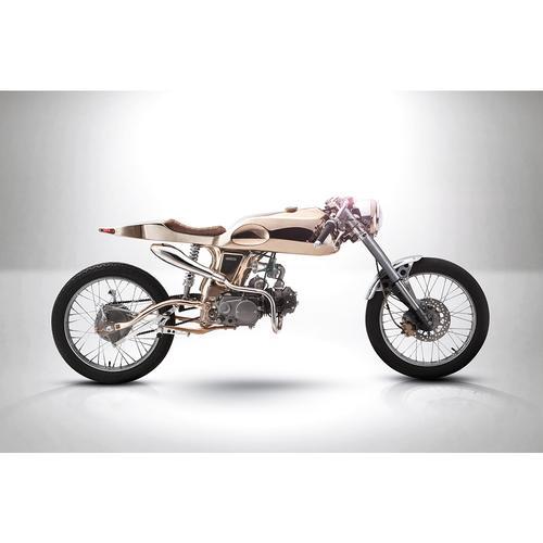 Honda Motorcycle   Eden   Gold