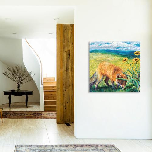 Foxy Triptych Panel II