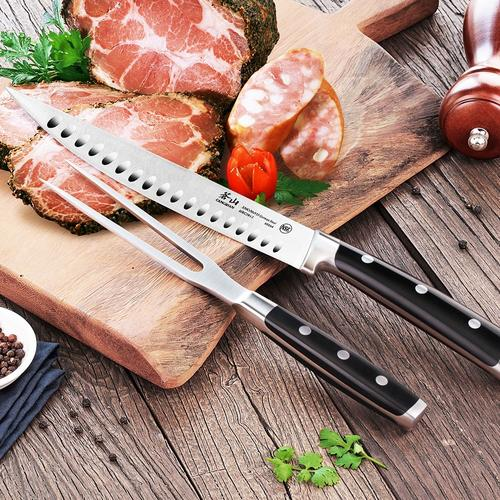 S Series | 2-Piece Carving Set Combo | Steel | Cangshan