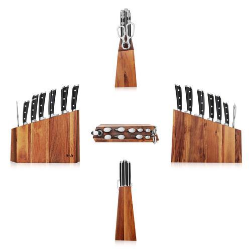 S Series | 12-Piece Set | Acacia Wood Block | Cangshan