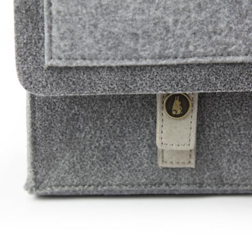 Mateo Felt Briefcase   Bold, Modern, Versatile   MRKT Bags