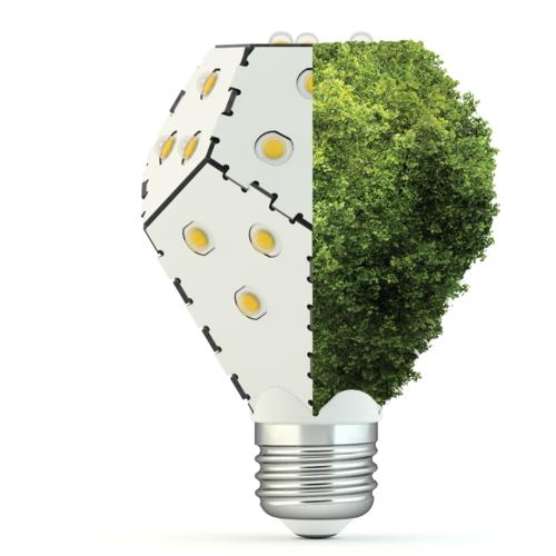 Dimmable LED Light Bulb | Nanoleaf Bloom | Black/White/Leaf