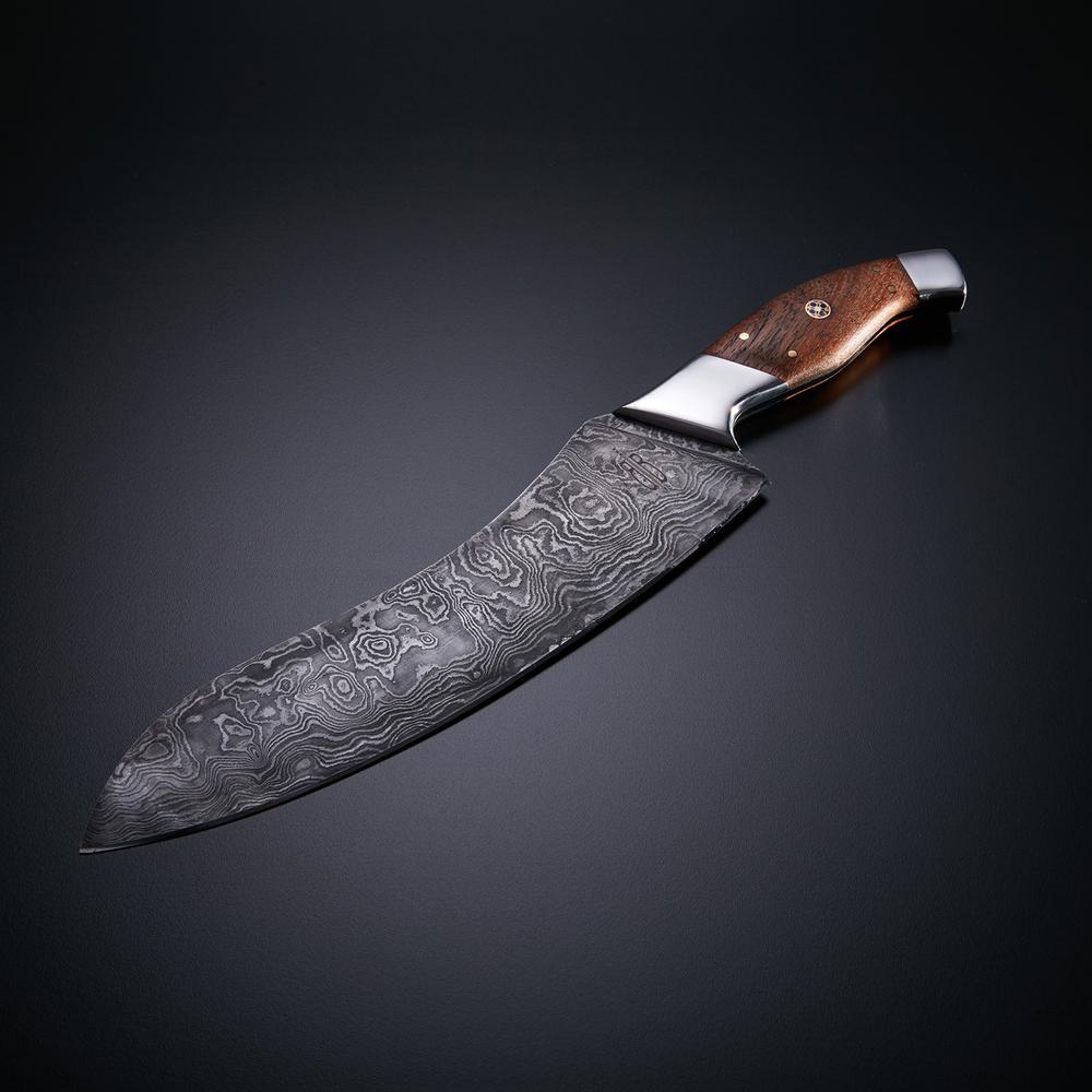 Vintage Kitchen Knives For Sale: Damascus Kitchen Utility Knife