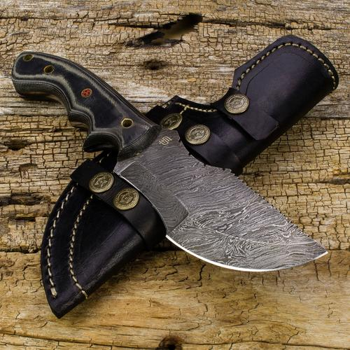 Ironside Damascus Tracker