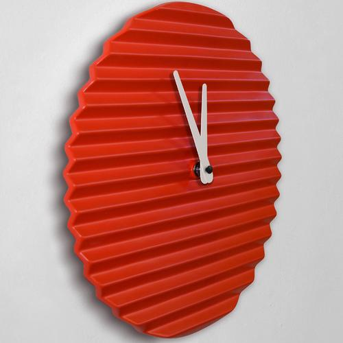 WaveCLOCK | Red | Sabrina Fossi