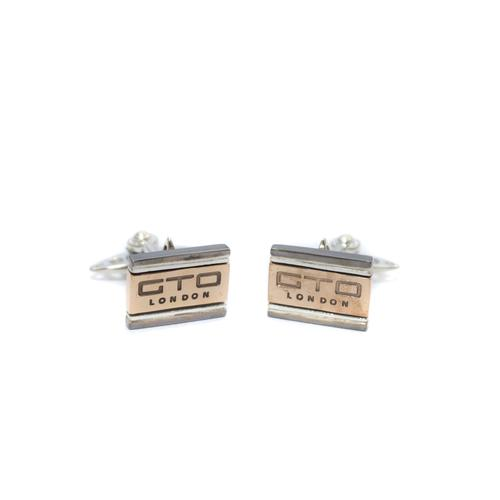 RFM Rhodium GTO cufflinks