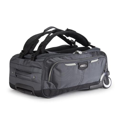 GLIDER rolling carry on with Backpack | Grey
