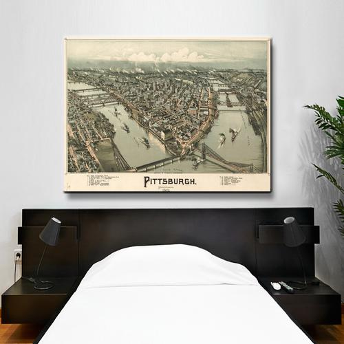 Pittsburgh | Canvas