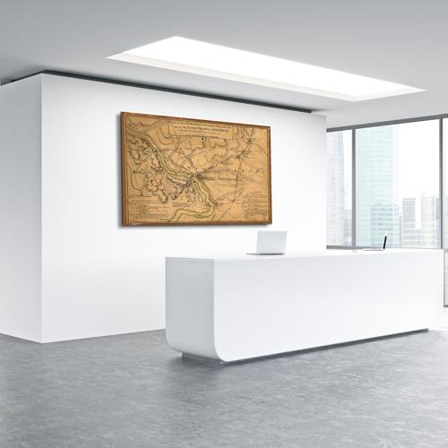 Plan of the operations - General Washington | Canvas