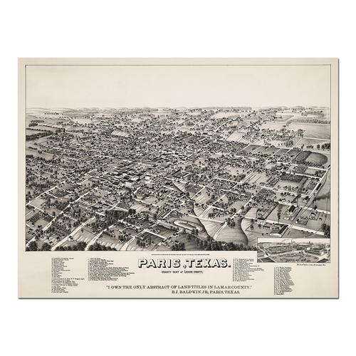Paris, TX | Paper