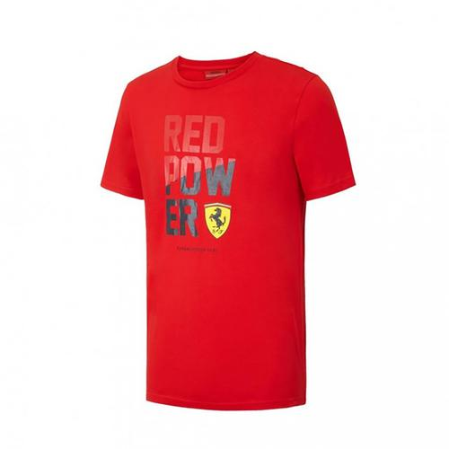 Scuderia Ferrari Power Graphic T-Shirt | Red