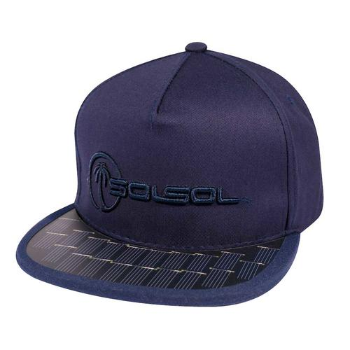 The Solar Charger Hat | Navy