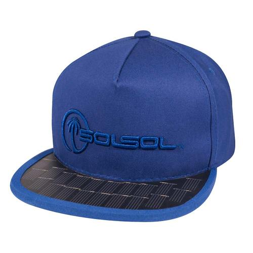 The Solar Charger Hat   Royal