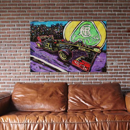 Lotus Race Car