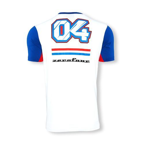Andrea Dovizioso 2016 04 Striped T-Shirt | Moto GP
