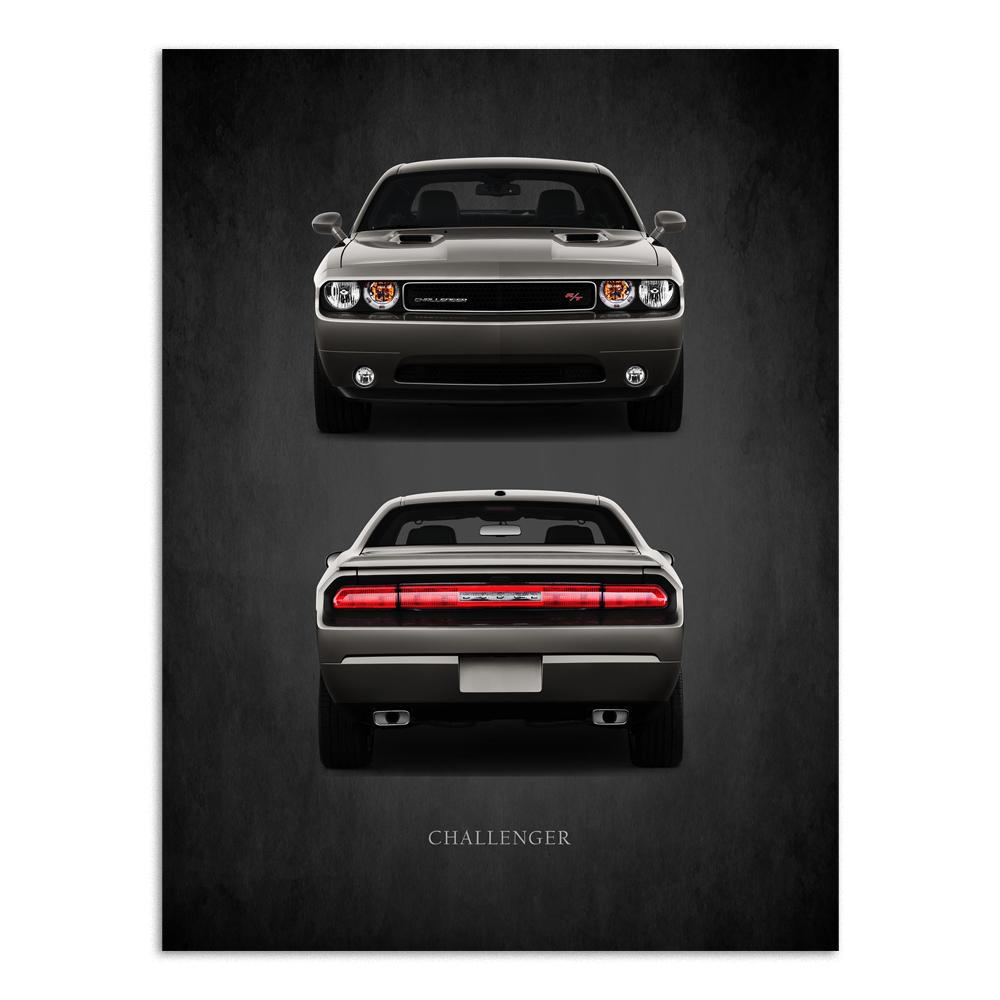 Challenger | Paper | Muscle Cars Through The Years