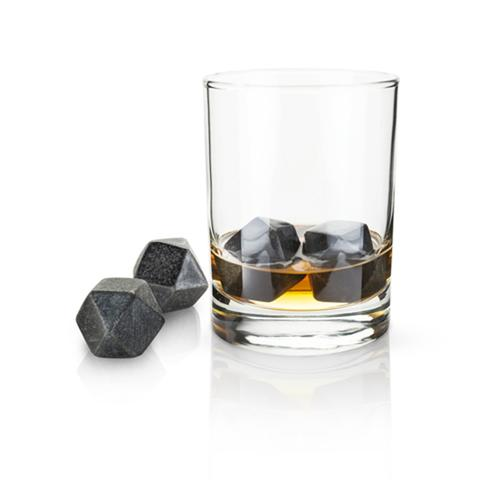 Glacier Rocks Hexagonal Ice Cubes | Set of 8