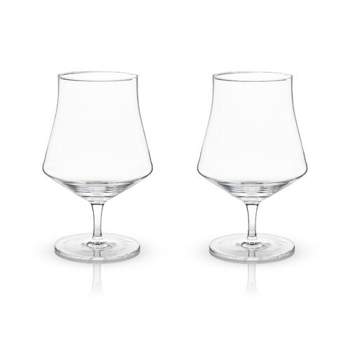 Crystal Beer Goblet Glasses