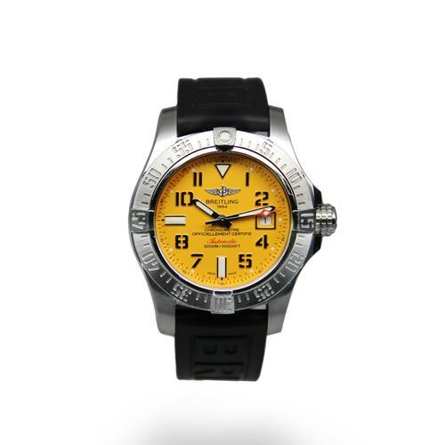 Breitling Avenger2 Seawolf Yellow