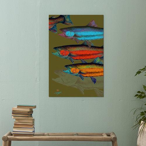 Multi-Colored Fish