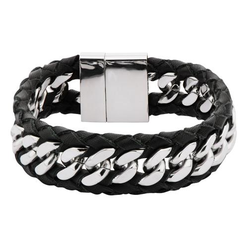 Men's Stainless Steel Polish Finished Curb Chain