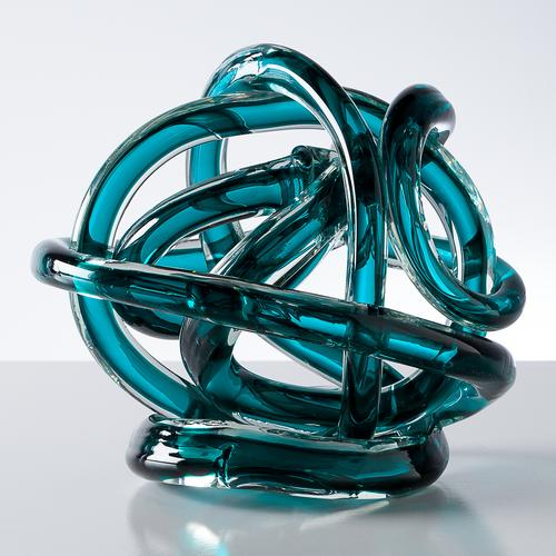 Orbit Glass Decor Ball Extra Large | Teal