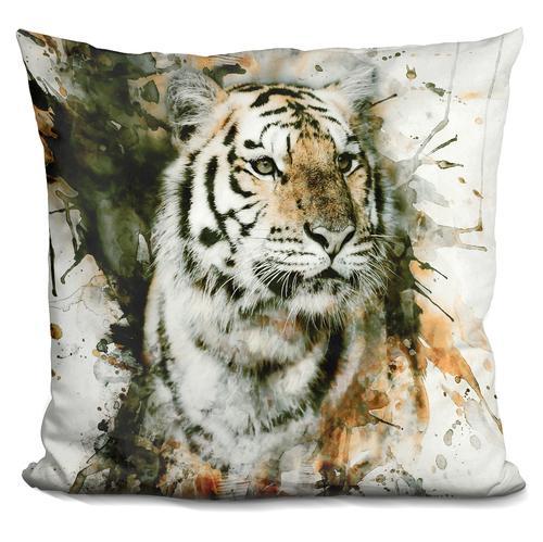 Riza Peker 'Tiger' Throw Pillow