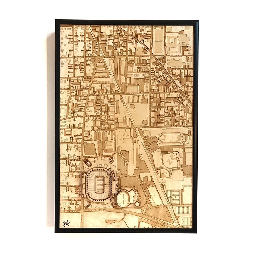 3D Stadium Maps | Ann Arbor, MI