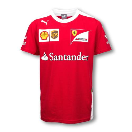Scuderia Ferrari Team T-Shirt Kids 2016 Replica