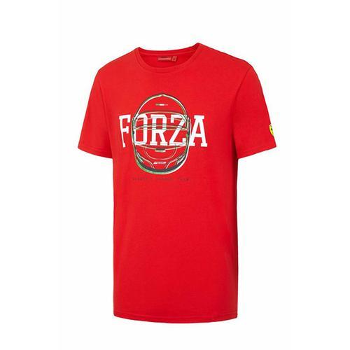 Scuderia Ferrari Forza Helmet Graphic T-Shirt Mens