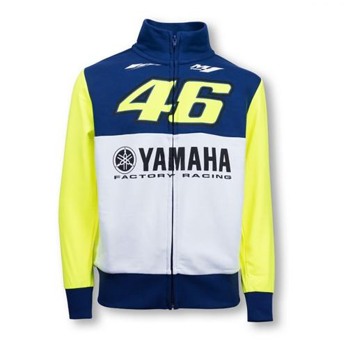 YAMAHA VALENTINO ROSSI ZIP UP HOODIE KIDS 2016 REPLICA