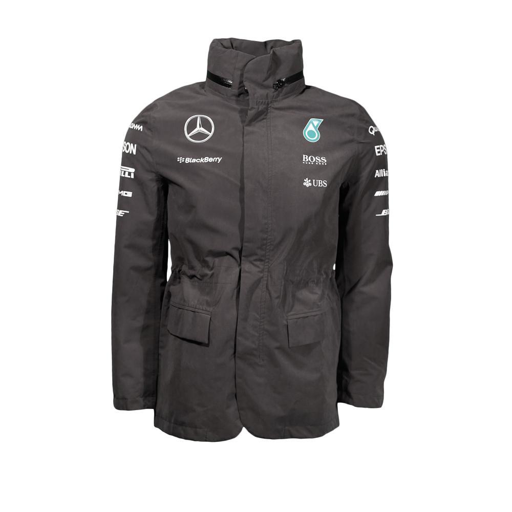 Mercedes Benz Leather Jacket: MERCEDES AMG PETRONAS RAINJACKET MENS 2015