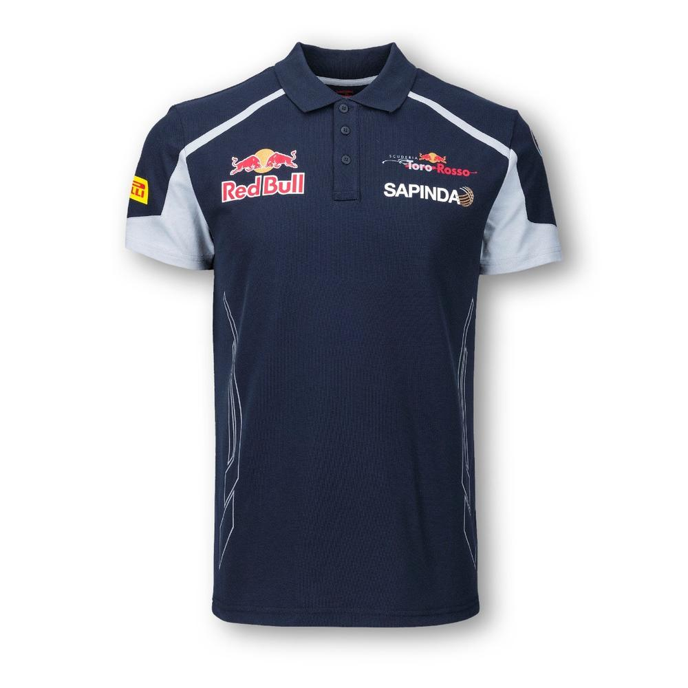 SCUDERIA TORO ROSSO POLO SHIRT MENS 2016 REPLICA