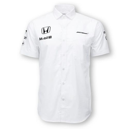 MCLAREN HONDA TEAM MANAGEMENT SHIRT MENS 2016 REPLICA
