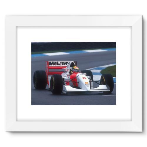 Ayrton Senna, 1993 European Grand Prix   White