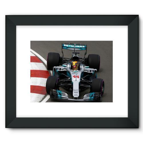 Lewis Hamilton, Mercedes AMG F1 W08 | Black